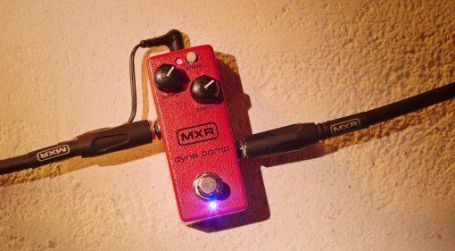 MXR Dyna Comp Mini Effekt Pedal Front