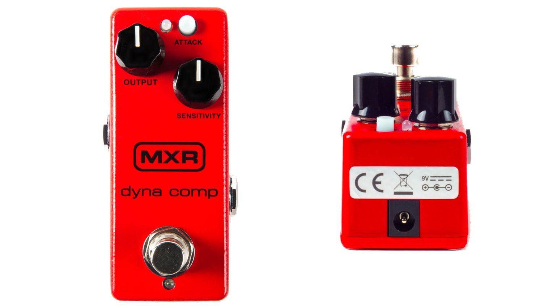MXR Dyna Comp Mini Effekt Pedal Front DC JAck