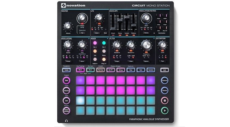 Novation Circuit Mono Station Synthesizer Front