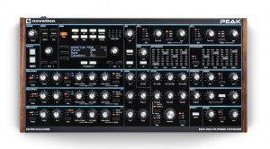 Novation Peak Leak Front Synthesizer