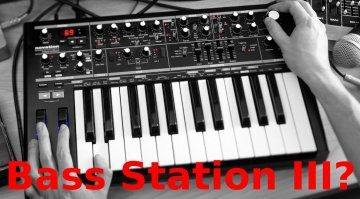Novation Superbooth Spekulation Bass Station III