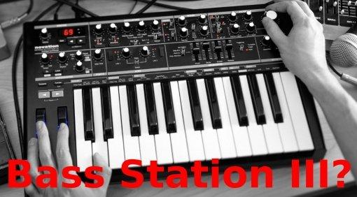Novation Superbooth Spekulation Bass Station III