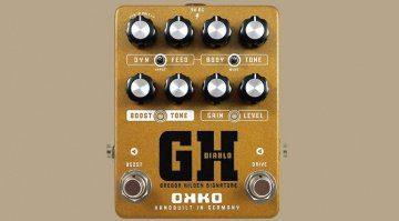 Okko Diablo Gregor Hilden Signature Effekt Pedal Overdrive Front Teaser