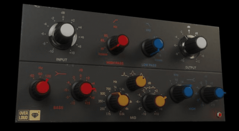 Overloud GEM EQ495 - analoger Vinylschnitt-Mastering-EQ als Plug-in