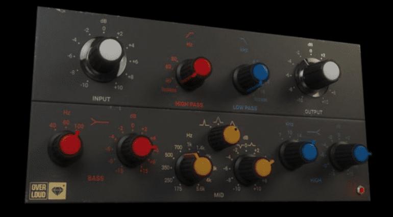 Overloud GEM EQ495 - analoger Vinylschnitt-Mastering-EQ als Plug-in