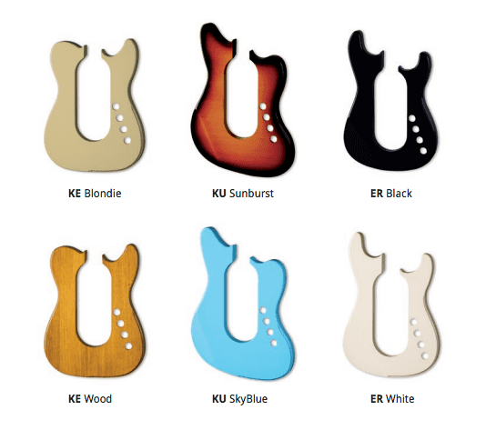 Pons Guitars Revolution Fender Models