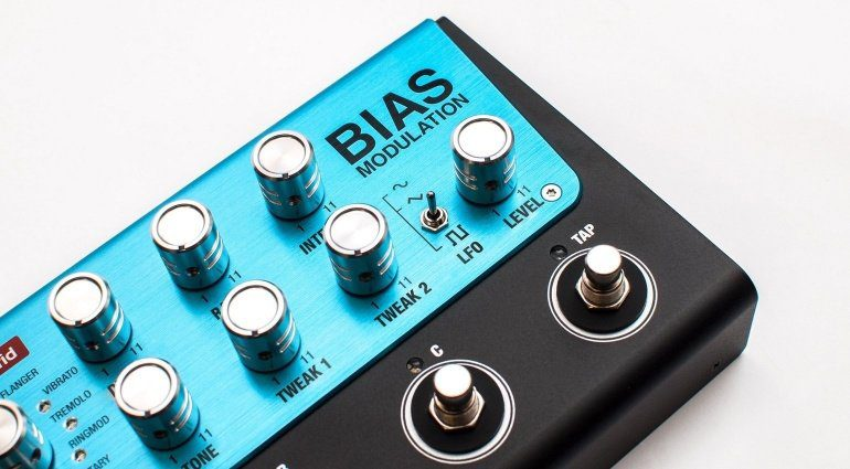 Positive Grid BIAS Modulation Effekt Pedal Modelling Slant 1