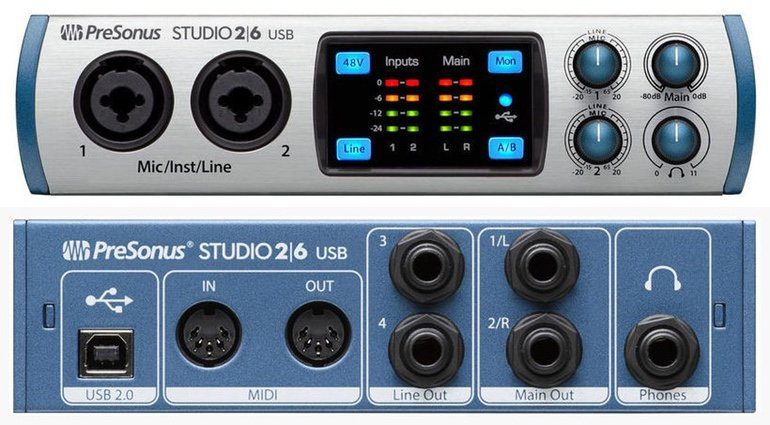 Presonus Studio 26 USB Audiointerface
