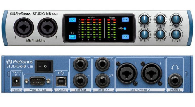 Presonus Studio 68 USB Audiointerface