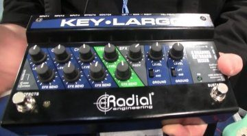 Radial Engineering Key-Largo Mixer USB Interface Pedal Teaser
