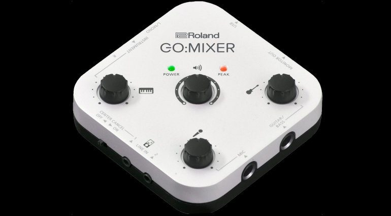 Roland Go Mixer USB Audiointerface Teaser