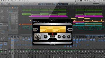 Royale Filter - kostenloses modulierendes Filter Plug-in für Macs