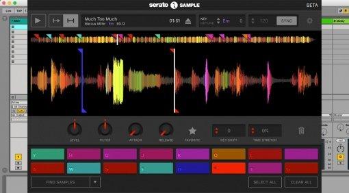 Serato Sample - Public Beta eines neuen Sampler Plug-ins mit DJ Technologie