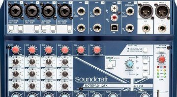 Soundcraft Notepad 12FX Teaser