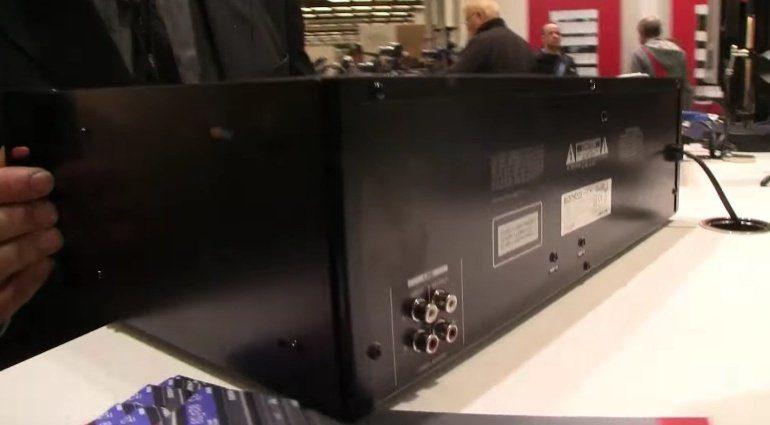 Tascam CDA580 Kassette Deck HiFi Rack Back