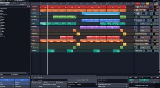 Tracktion Waveform DAW Editor Mixer Teaser