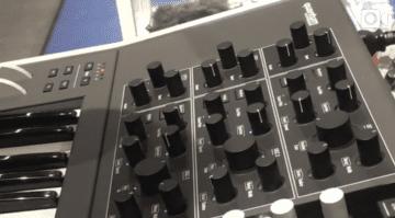 Musikmesse 2017: Waldorf Quantum Synthesizer gesichtet!