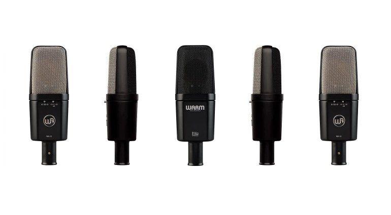 Warm Audio WA-14 AKG C414EB Klon Mikrofon Front Seite Back