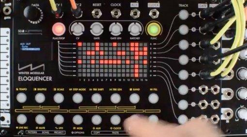 Winter Modular Eloquencer - grafischer Stepsequencer für das Eurorack