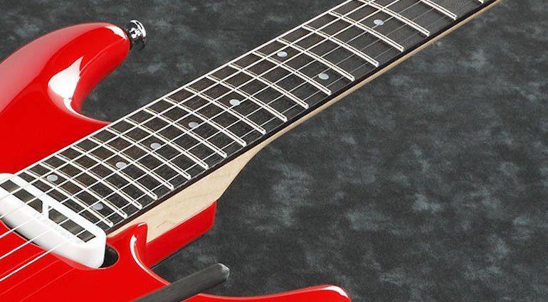 Ibanez JS2480 Joe Satriani Griffbrett