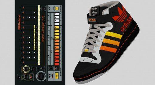 Adidas Neely Air Roland TR-808: Disturb the Peace - die mobilste 808 der Welt