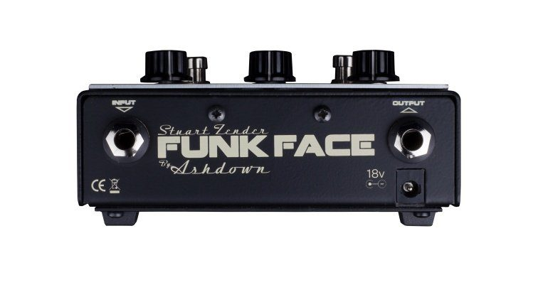 Ashdown Funk Face Wah Overdrive Röhre Pedal Back