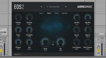 Audiodamage EOS 2 - komplett überarbeitet und viele neue Extras