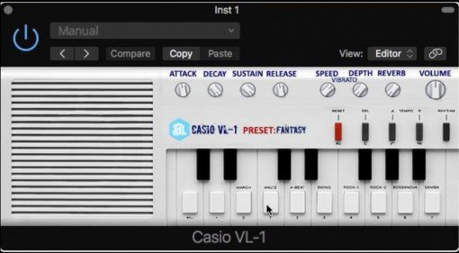 Autodafe Casio VL-1 - Da, Da, Da in virtuell und kostenlos