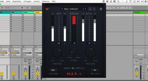Beatskillz Max 1 - kostenloses Limiter Plug-in für alle Gelegenheiten