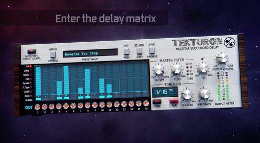 D16 Tekturon - frei programmierbares Multi-Tap Sequencer Delay