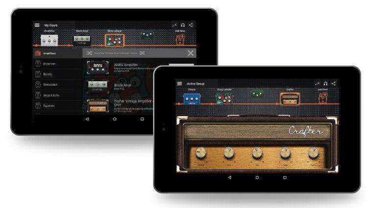 Deplike App Tablet GUI