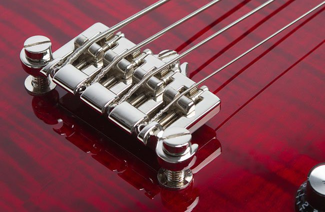 Epiphone Jack Casady 20th Anniversary Bass Wine Red Bridge