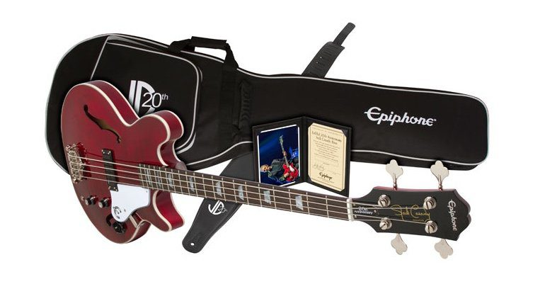 Epiphone Jack Casady 20th Anniversary Bass Wine Red Paket