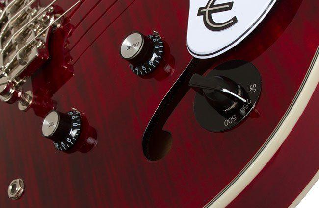 Epiphone Jack Casady 20th Anniversary Bass Wine Red VariGain