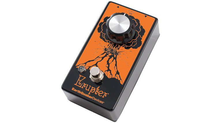 EarthQuaker Devices' Erupter Fuzz Pedal