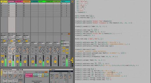 Gibberwocky - einen Song mal schnell live programmiert