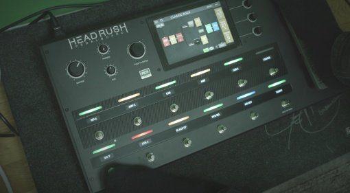 Headrush Pedalboard Multi Effekt Pedal Video Presets Front Teaser