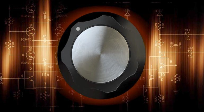 IK Multimedia Teaser One Knob Moog Filter Boss Pedal