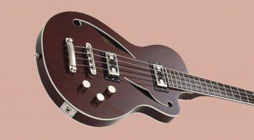 Italia Guitars Maranello Cavo Bass Racing Green