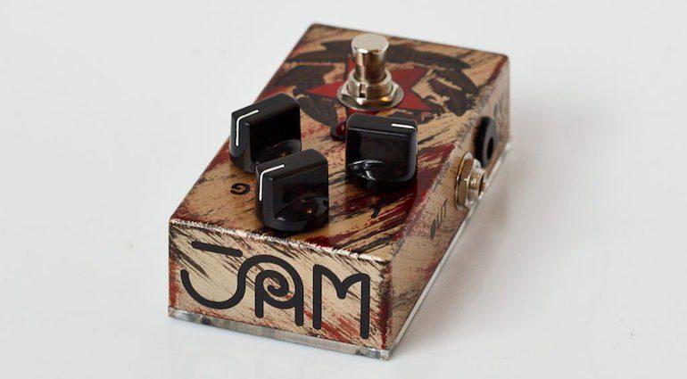 JAM Pedals Black Muck - Vintage Fuzz Pedal Ltd Edition