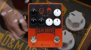 Keeley DM Drive pedal That Pedal Show Teaser