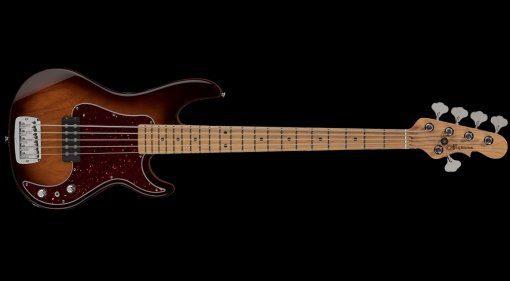 G&L Kiloton 5-String E-Bass Teaser