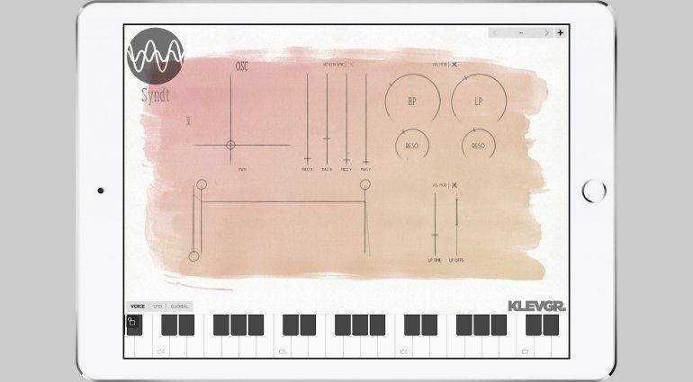 Klevgränd Syndt - polyphone Klangsynthese wie aus dem Malkasten