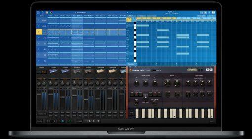 Korg Gadget LE - kostenlose DAW für den Mac