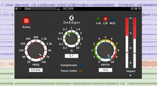 Ohlhorst Digital TDR DeEdger Plug-in GUI Teaser