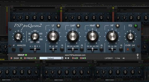 PSP preQursor2 - analoges Equalizer Plug-in in Neu