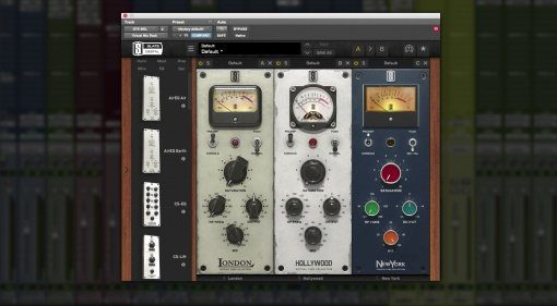 Slate Digital Virtual Tube Collection VTC London Hollywood New York PLug-ins GUI Pro Tools