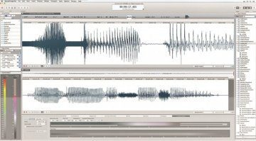 soundforge pro mac 3 user interface screenshots