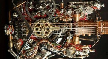 Steampunk Gitarre Teaser
