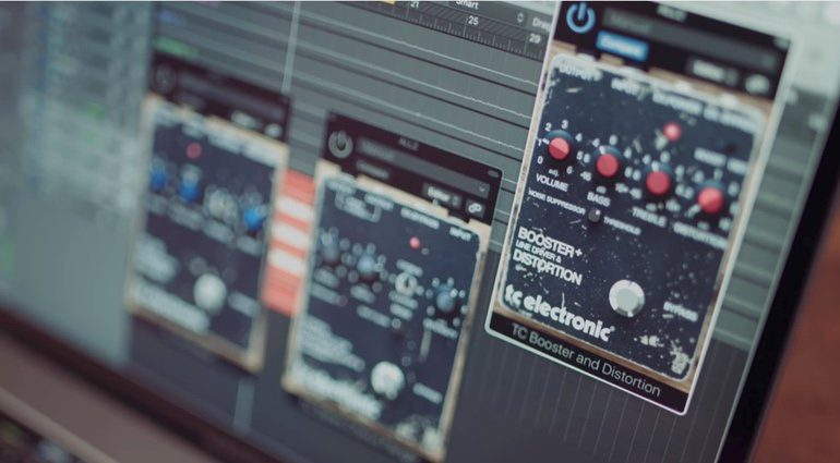 TC Electronic Vintage Guitar Effekt PLug-in Bundle GUI TEaser